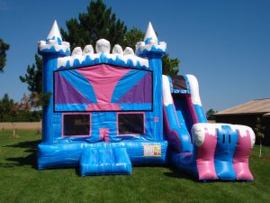 Ice Princess Bouncy Castle Rental