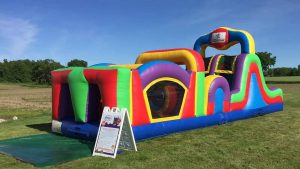 35ft Inflatable Obstacle Course Rental