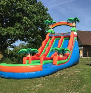 Giant Tropical Water Slide Rental