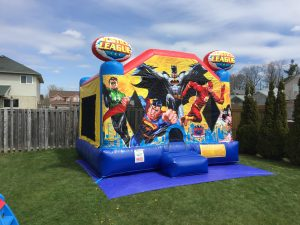 Super Hero Bouncy Castle Rental